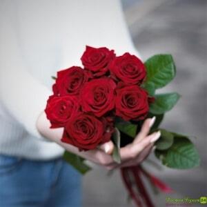 7 красных роз (5)